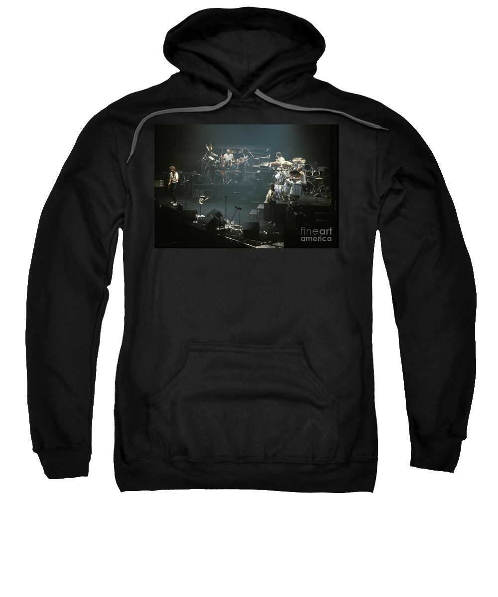 Phil Collins Sweatshirt featuring the photograph Genesis by Concert Photos