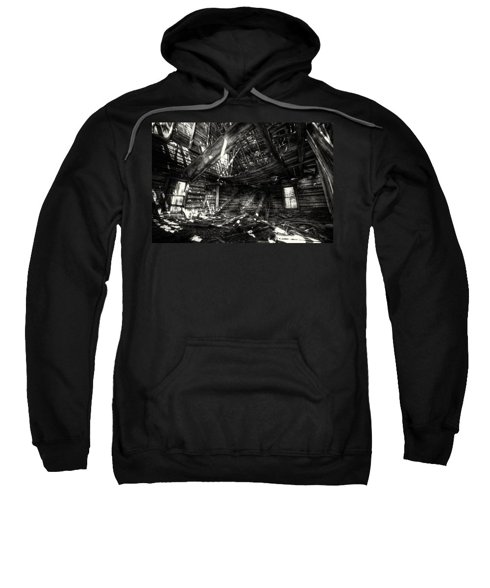 Architecture Sweatshirt featuring the photograph Ghost House Hd by Jakub Sisak