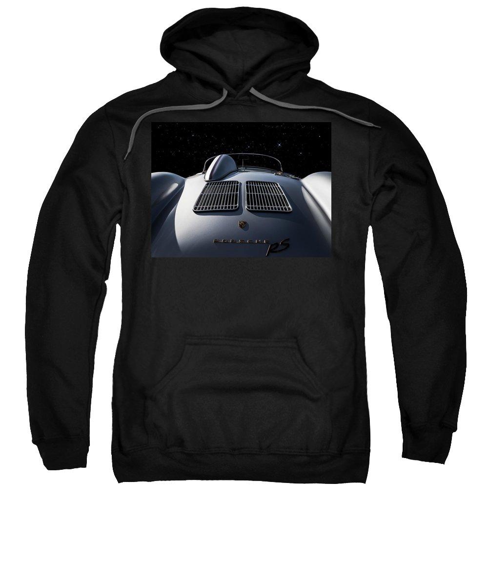 Porsche Sweatshirt featuring the digital art Giant Killer II by Douglas Pittman