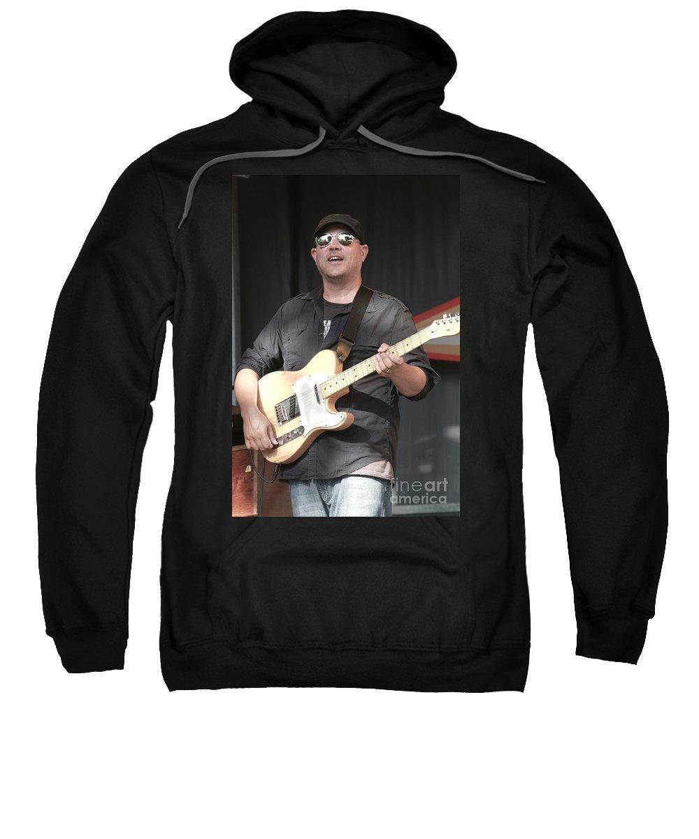 Fender Sweatshirt featuring the photograph Giant Panda Guerilla Dub Squad by Concert Photos