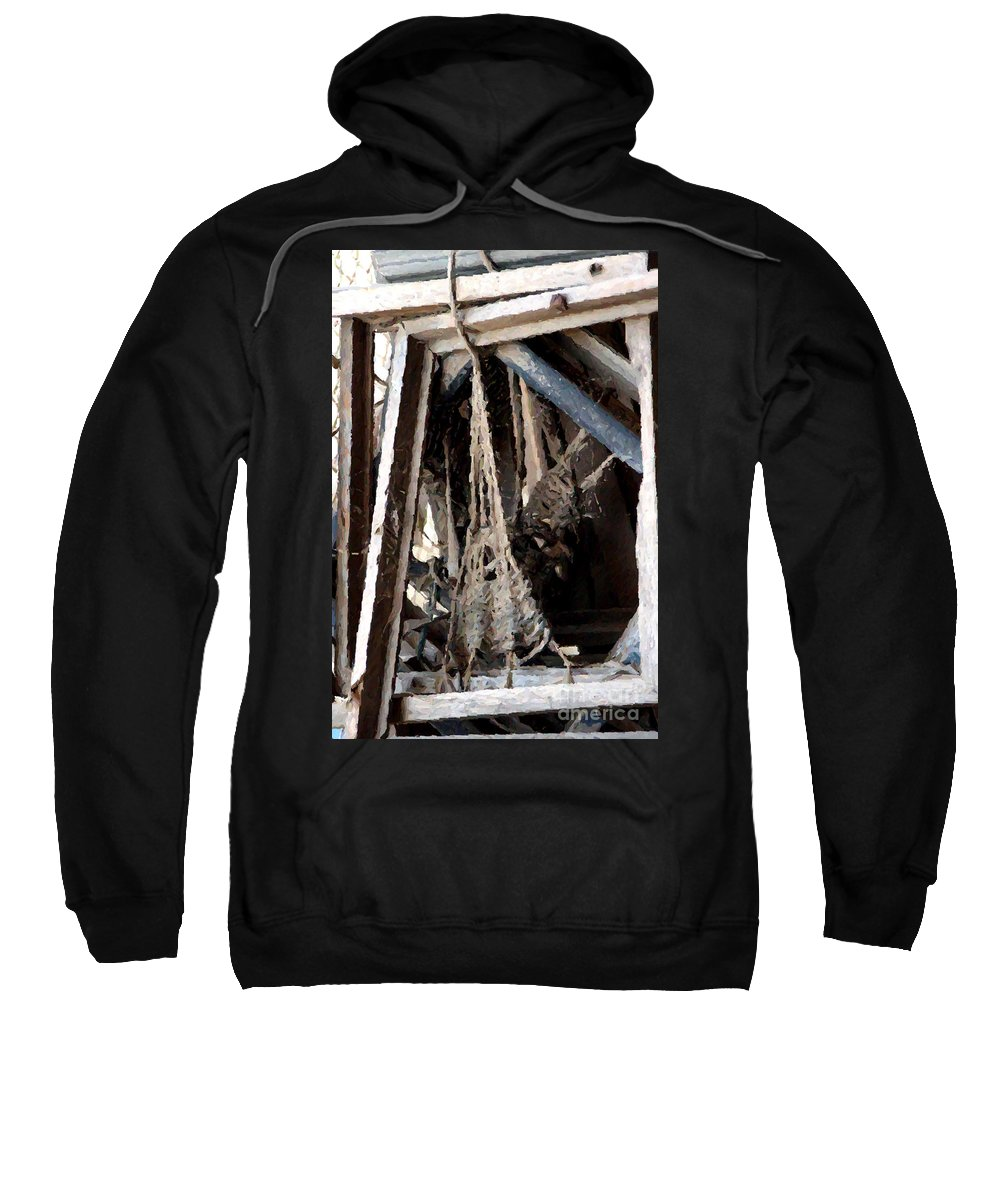Nature Sweatshirt featuring the photograph Giant Spiders Web by Doc Braham