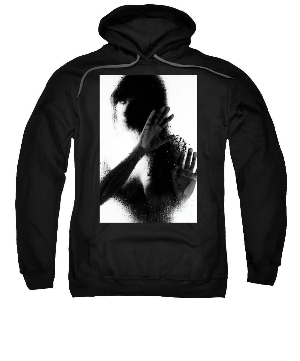 Art Sweatshirt featuring the photograph Glass Shadows by Jt PhotoDesign