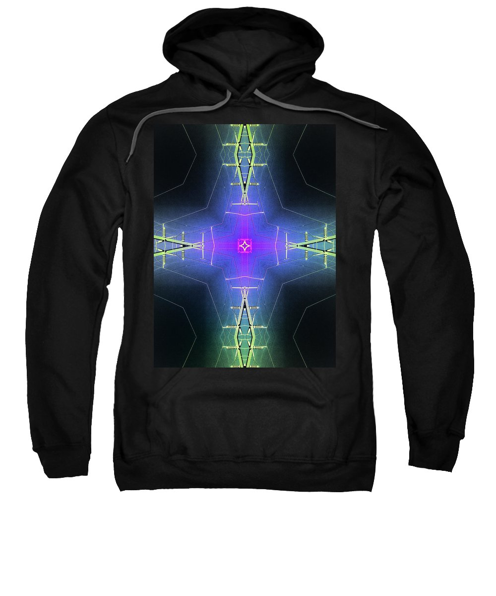 God Particle Sweatshirt featuring the photograph God Particle by Dominic Piperata