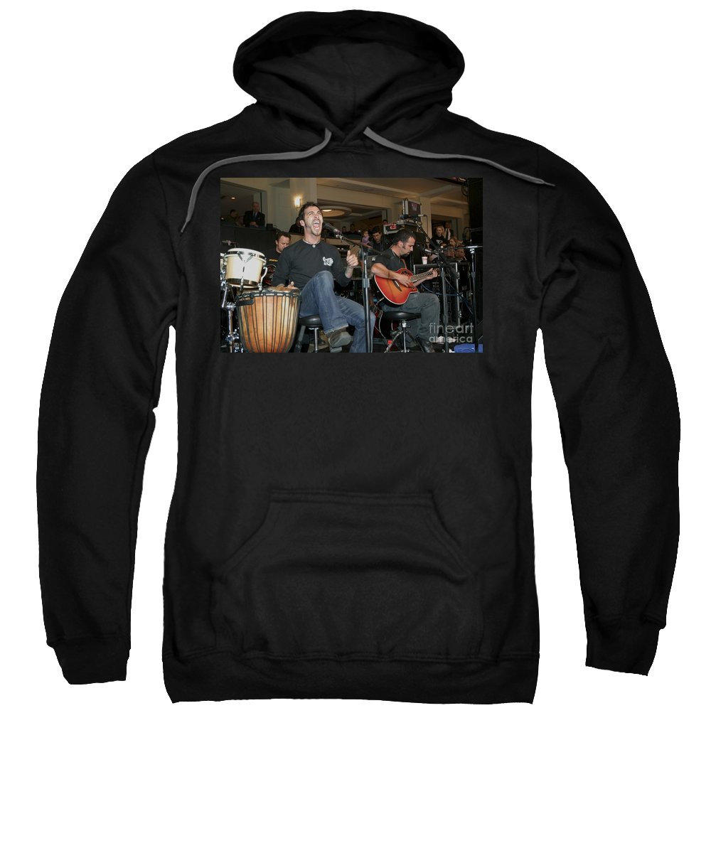 Alternative Metal Sweatshirt featuring the photograph Godsmack by Concert Photos