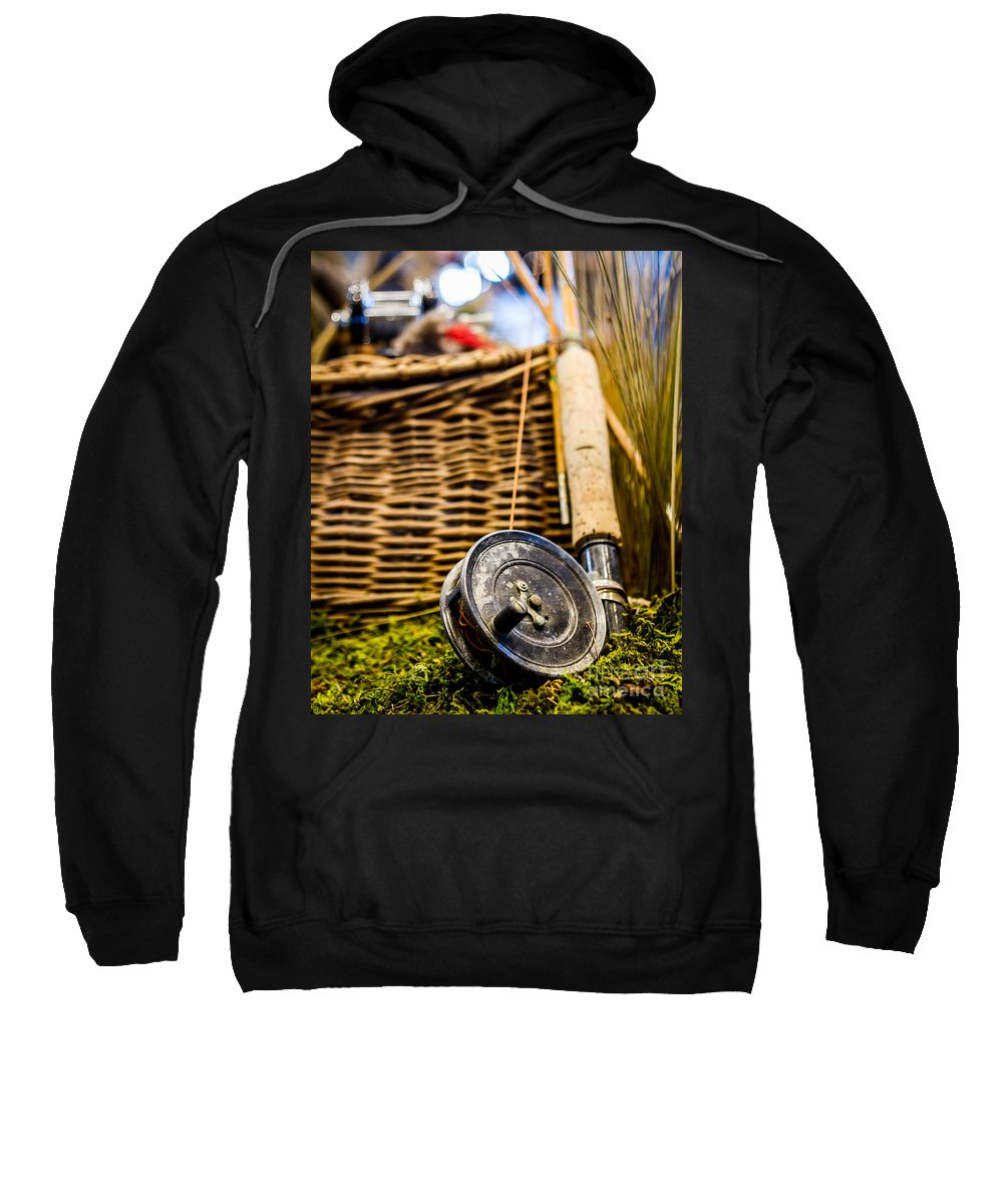 2011 Sweatshirt featuring the photograph Gone Fishing by Nicholas Pappagallo Jr