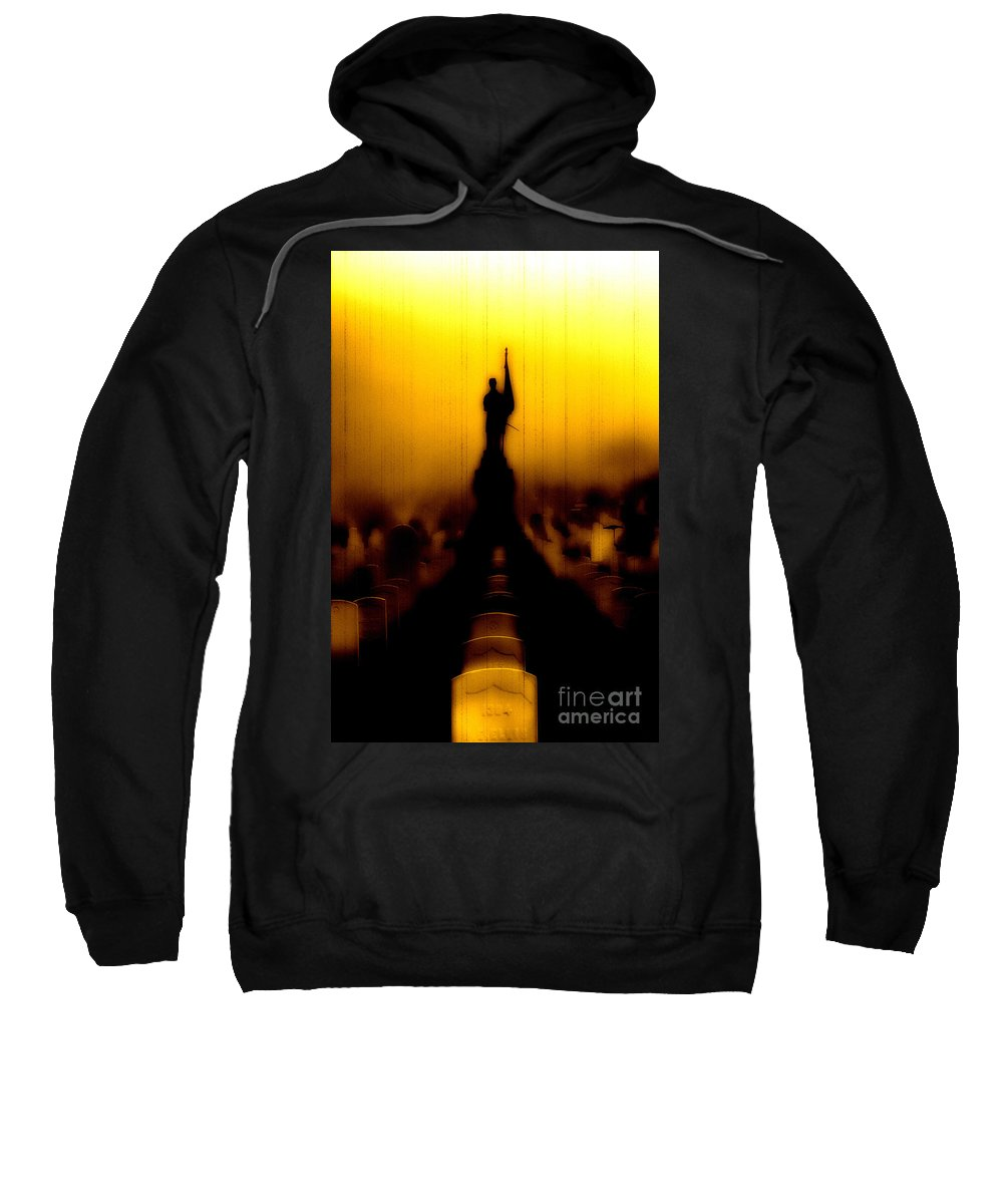 Heroes Sweatshirt featuring the photograph Goodnight My Fallen Brothers by Digital Kulprits