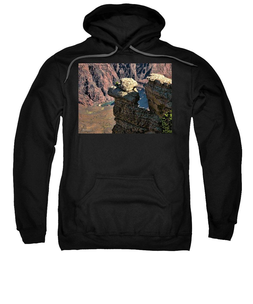 Az Sweatshirt featuring the photograph Grand Canyon. Az by Jennie Breeze