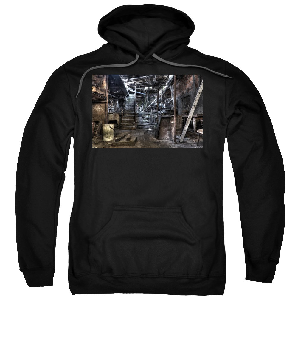 Grandmother's House Sweatshirt featuring the photograph Grandmother's House by Marco Oliveira