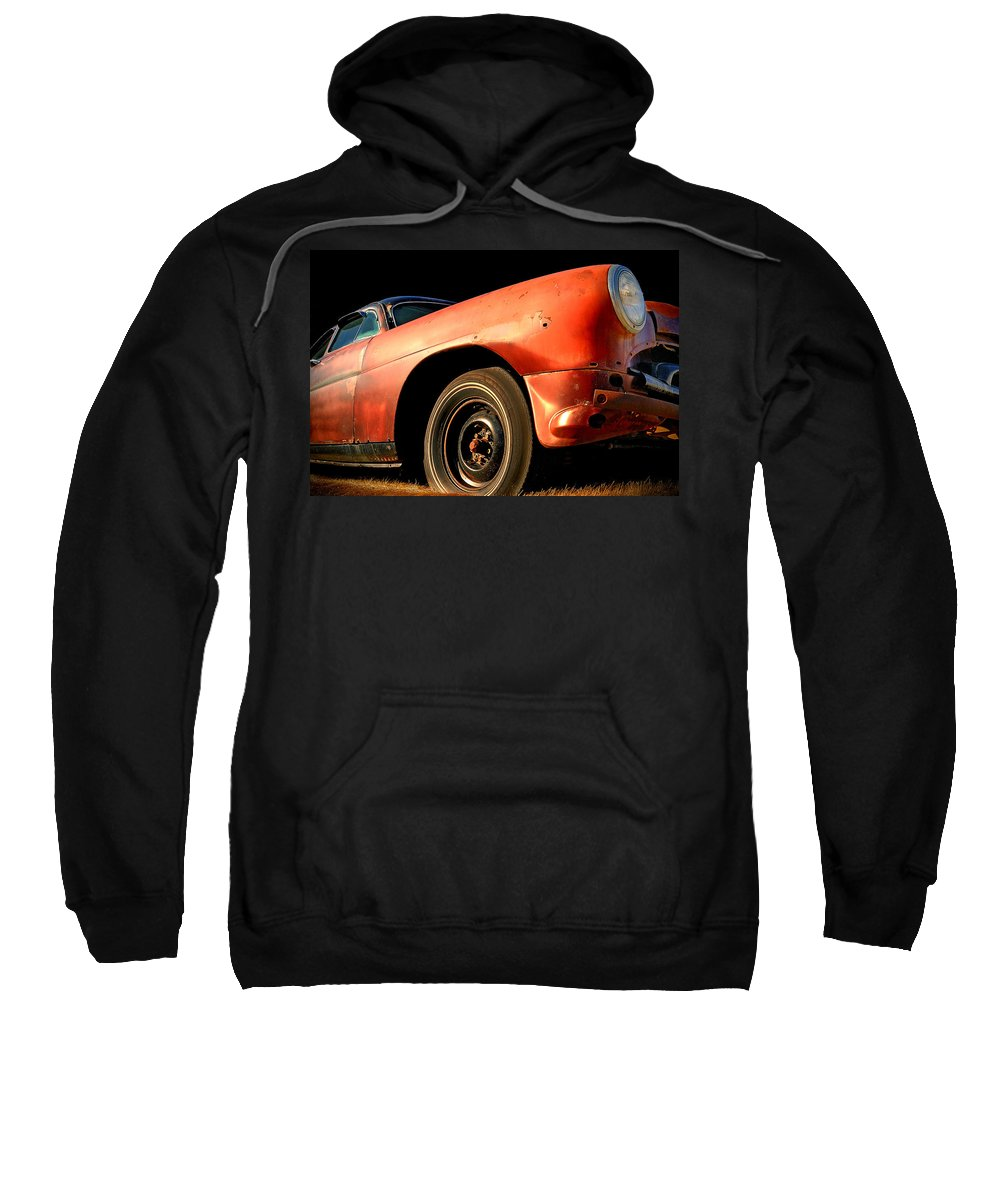 Automobile Sweatshirt featuring the photograph Grandpa Hudson by Ron Day