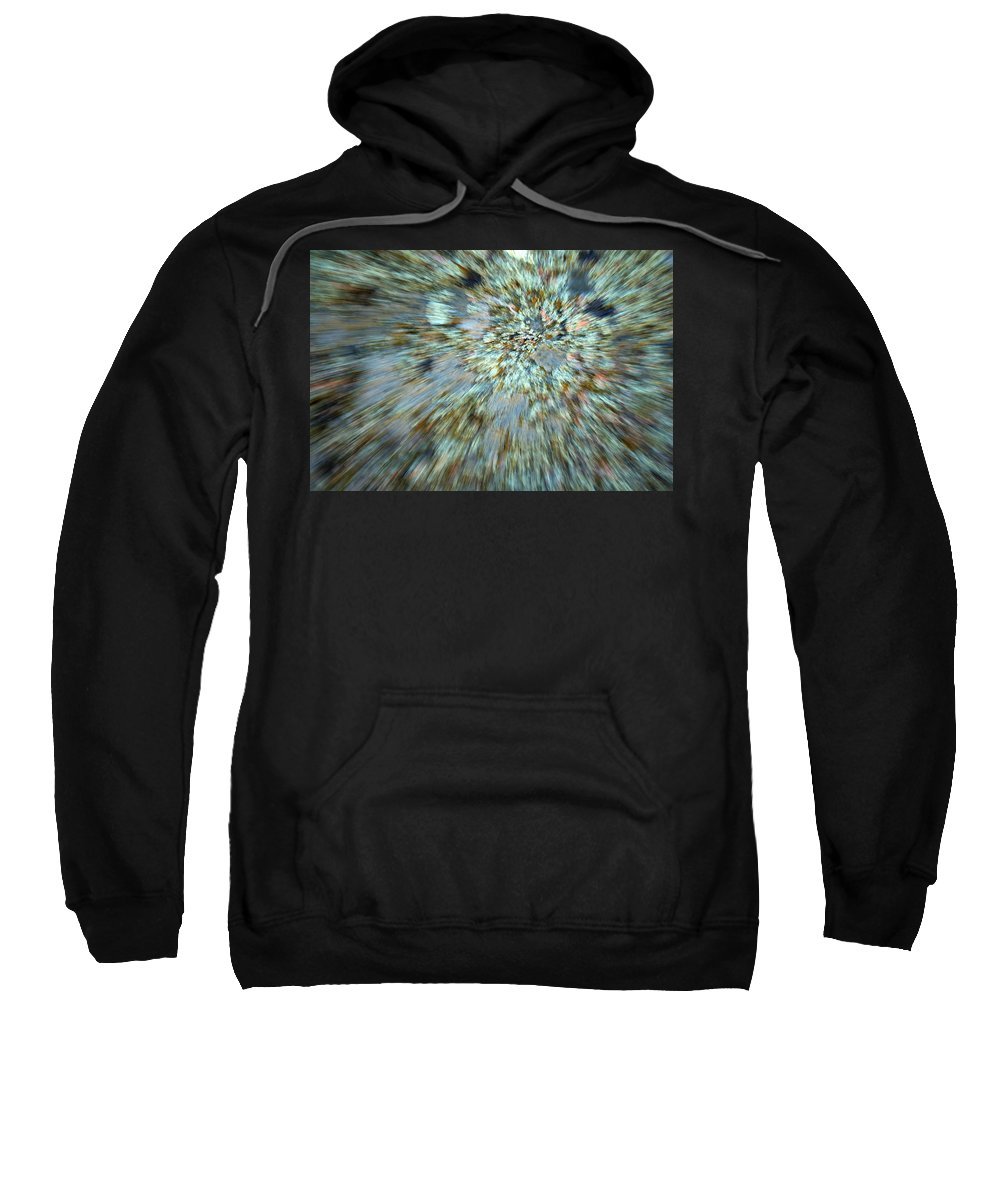Psychedelic Sweatshirt featuring the photograph Granite Dreams by Ric Bascobert