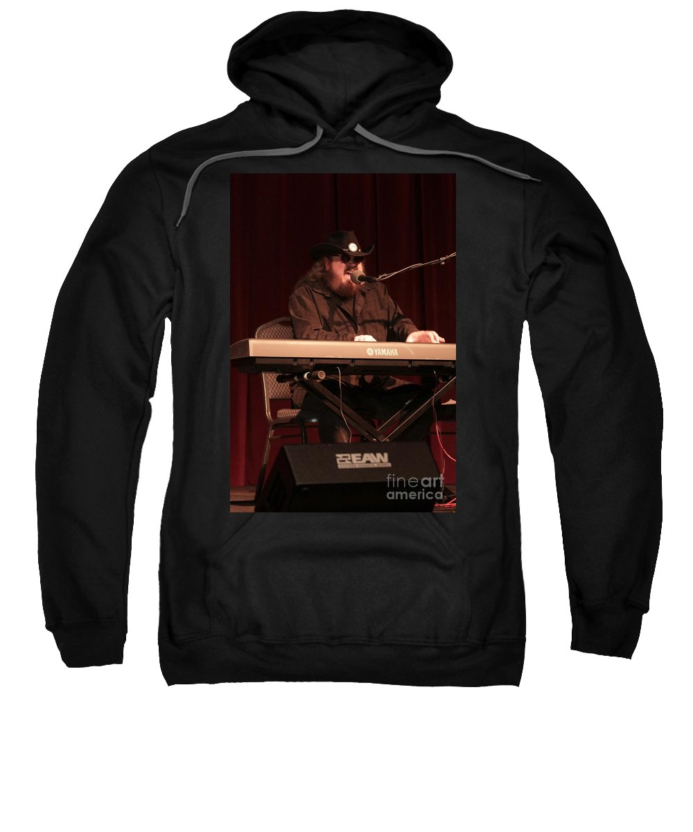 Singer Sweatshirt featuring the photograph Grayson Hugh by Concert Photos