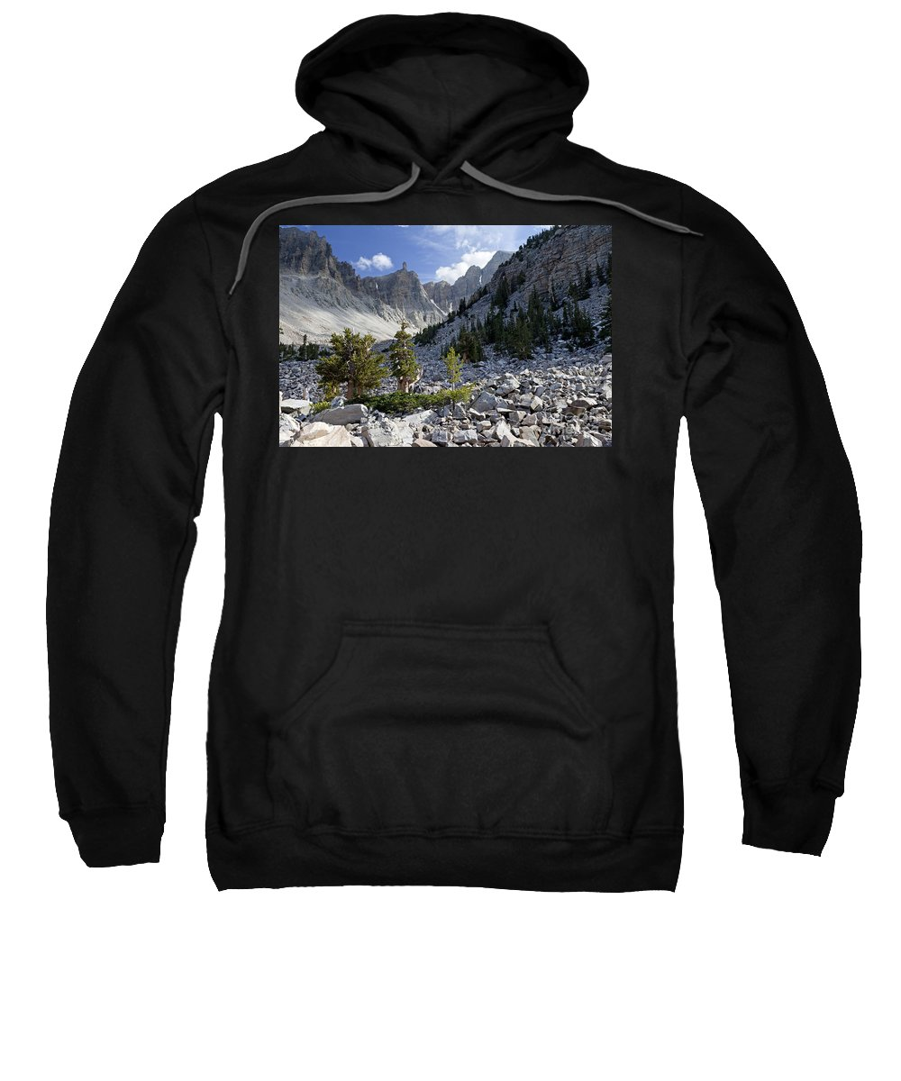Bristlecone Pine Sweatshirt featuring the photograph Great Basin National Park by Rick Pisio
