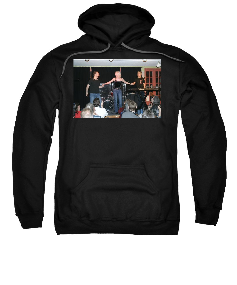 Pictures For Sale Sweatshirt featuring the photograph Groovelily by Concert Photos
