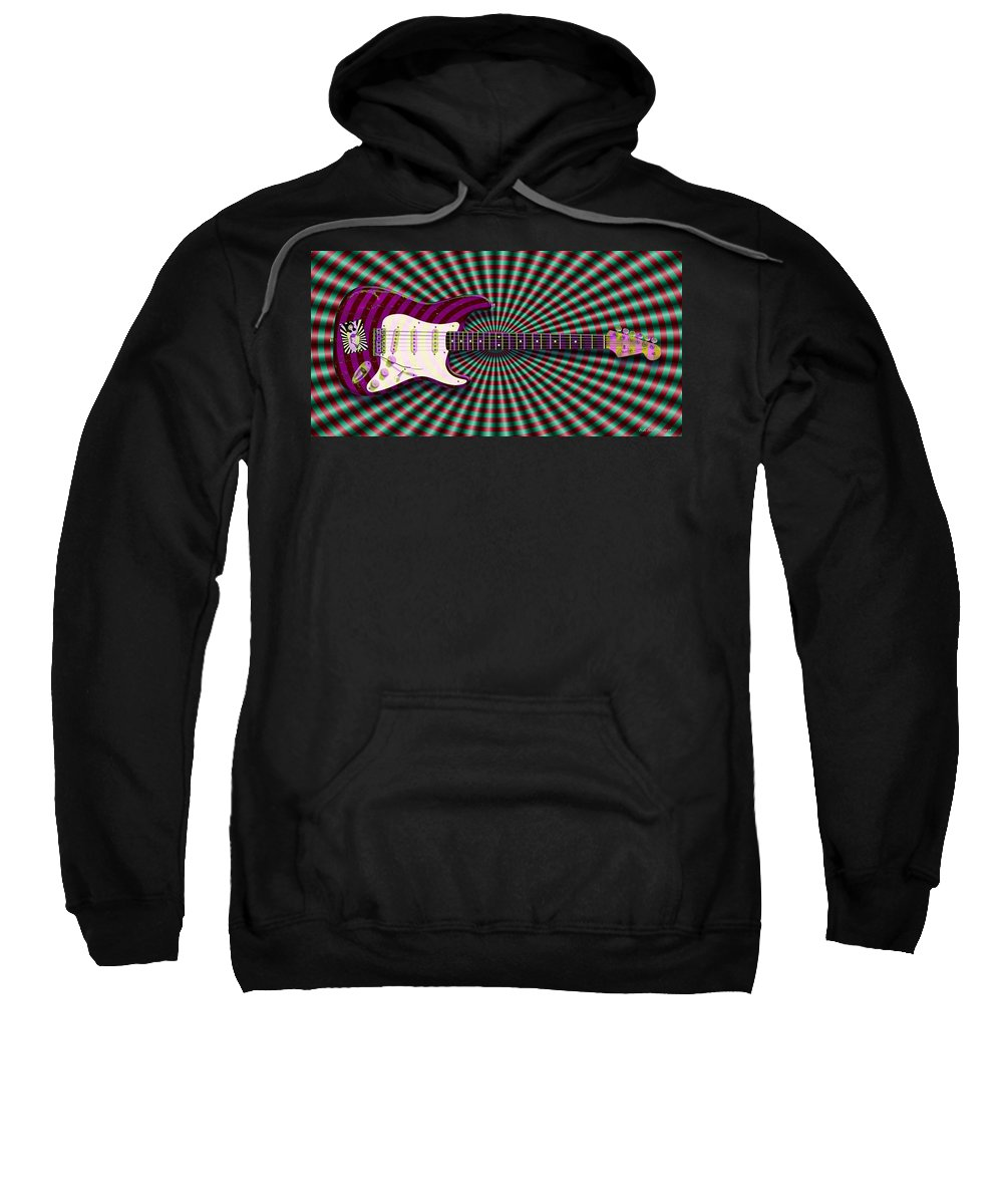 Fender Stratocaster Sweatshirt featuring the photograph Haight Ashbury by WB Johnston