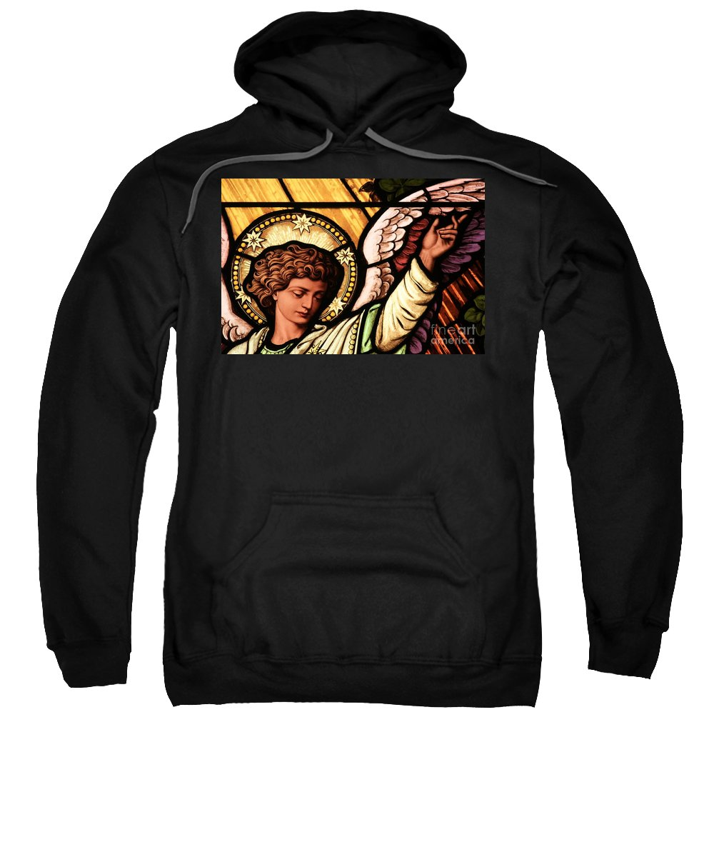Angel Sweatshirt featuring the photograph Hand Of The Angel by Adam Jewell