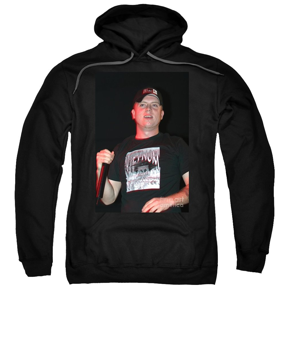 Concert Sweatshirt featuring the photograph Hatebreed by Concert Photos