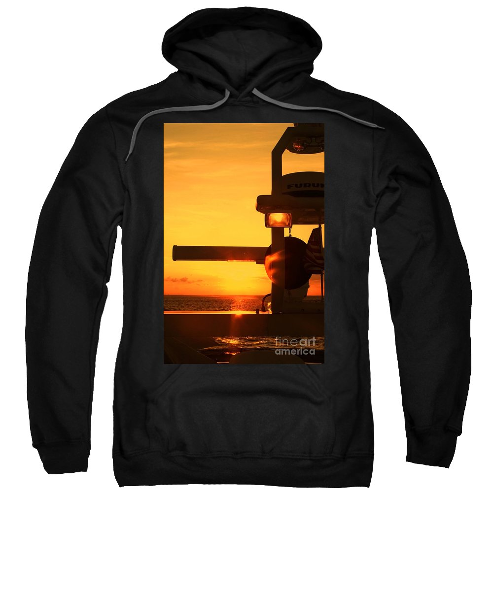 Sunset Sweatshirt featuring the photograph Heading Towards The Sun By Diana Sainz by Diana Raquel Sainz
