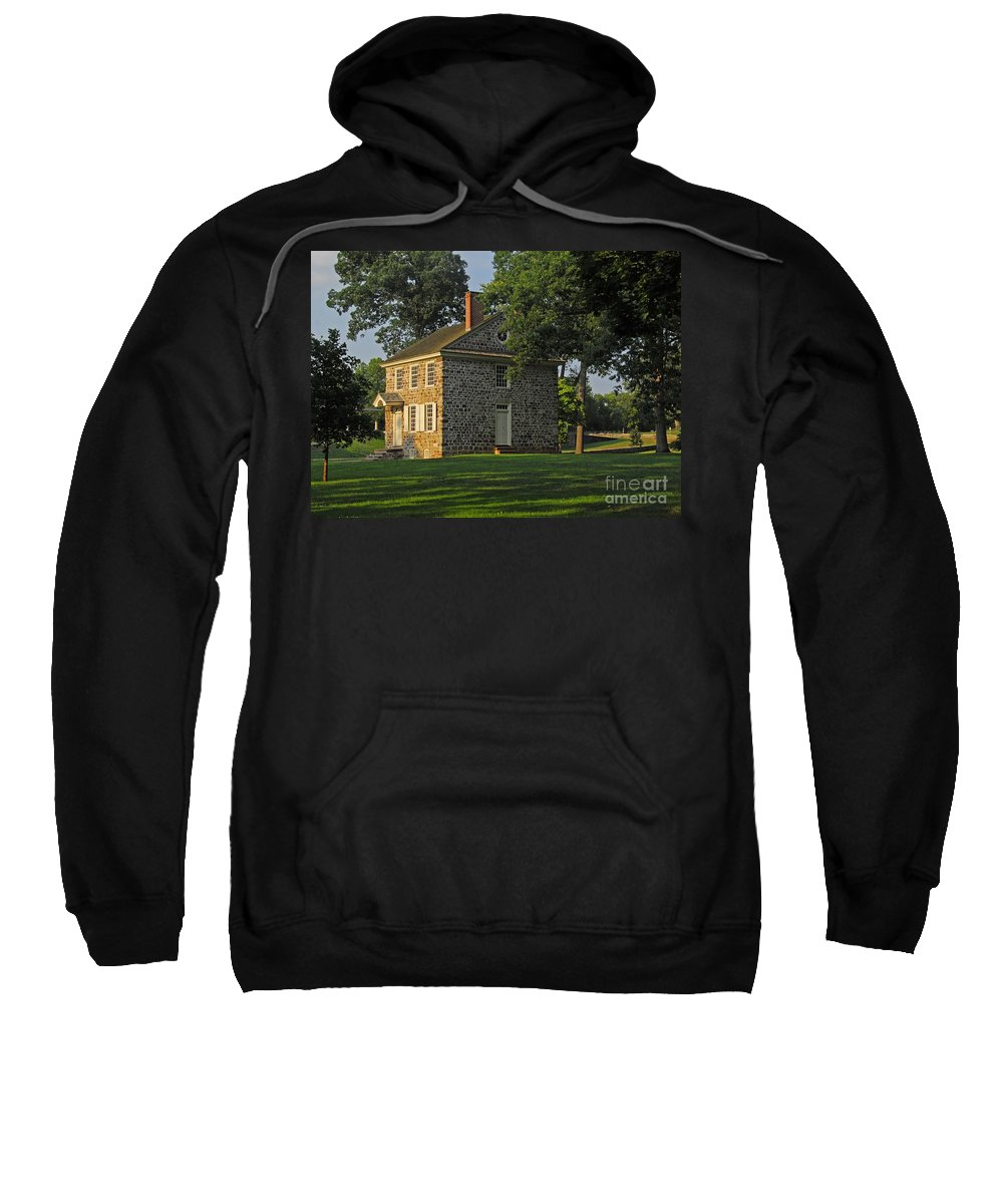 History Sweatshirt featuring the photograph Headquarters For Gw by Cindy Manero