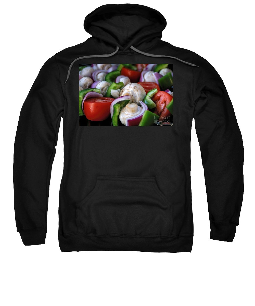Colorful Sweatshirt featuring the photograph Healthy Choice by Peggy Hughes