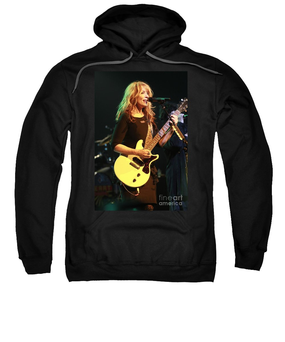 Singer Sweatshirt featuring the photograph Heart by Concert Photos