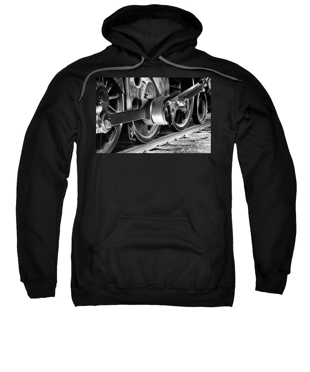 Train Sweatshirt featuring the photograph Heavy Metal 1519 - Photopower 1475 by Pamela Critchlow
