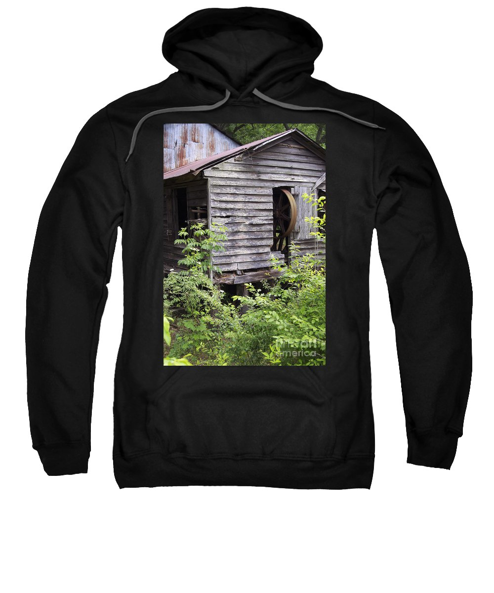Scenic Tours Sweatshirt featuring the photograph Historic Mill by Skip Willits