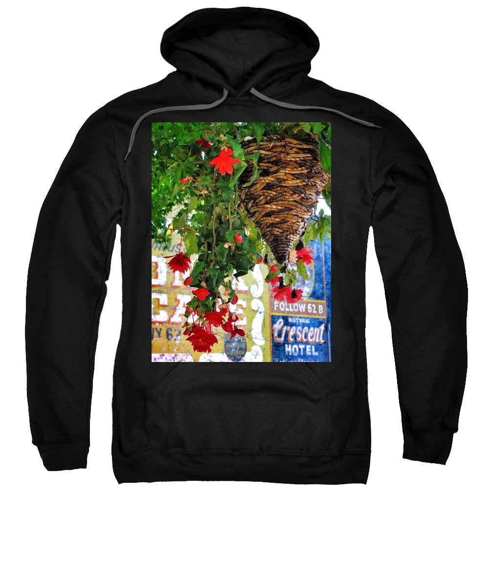 Historic Sweatshirt featuring the photograph Historic by Skip Hunt