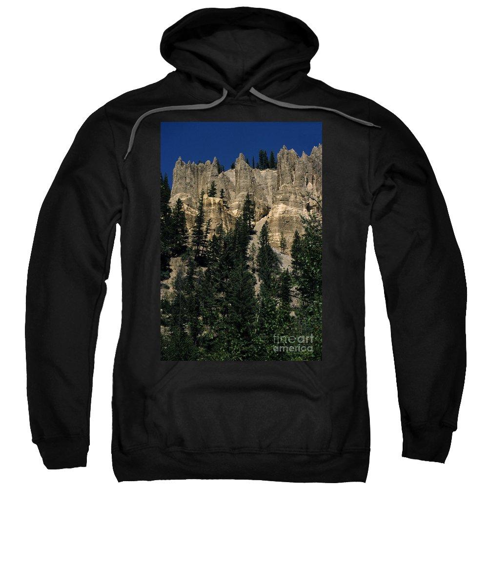 British Columbia Sweatshirt featuring the photograph Hoodoo's by Sharon Elliott