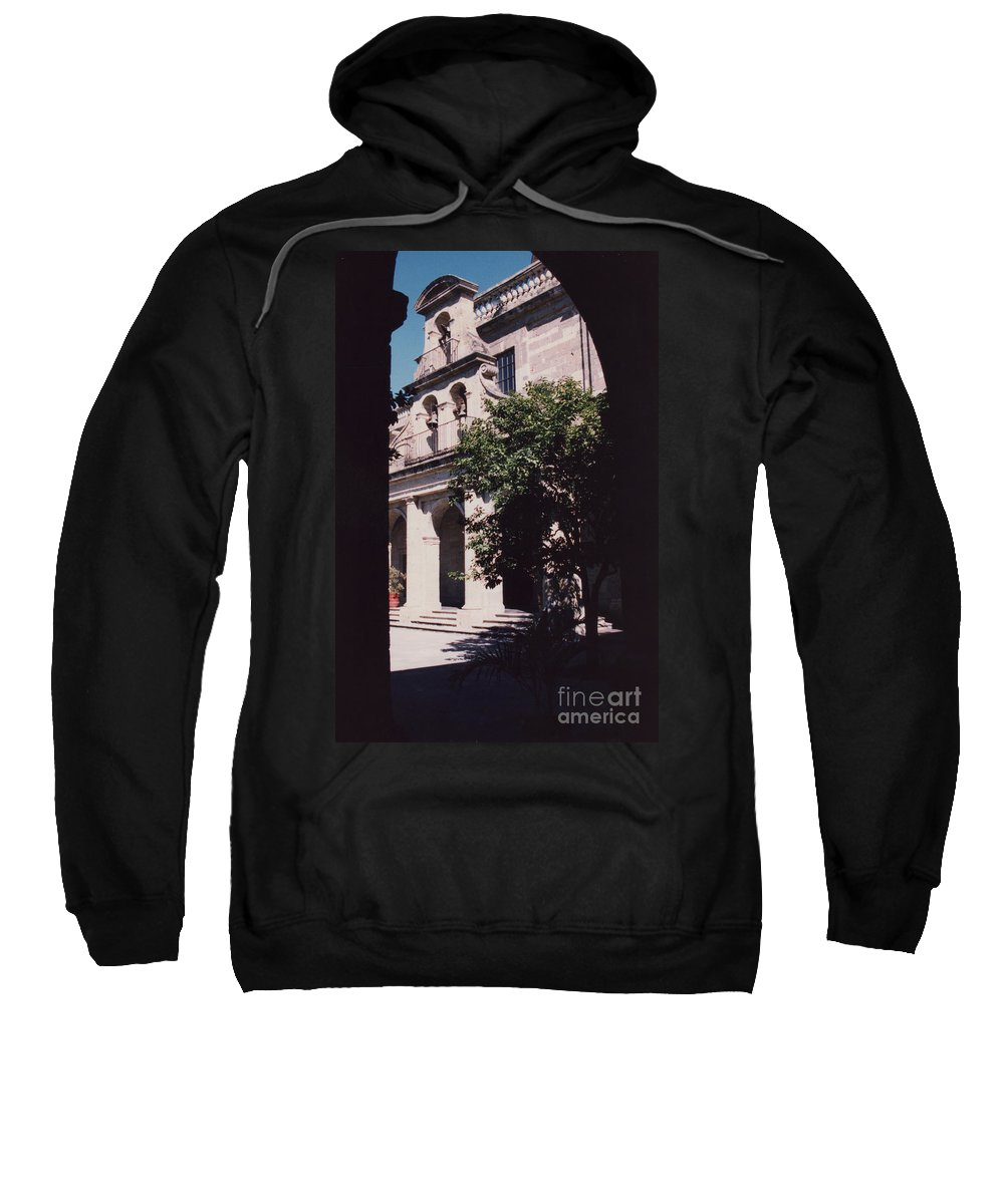 Mexico Sweatshirt featuring the photograph Hospicio Cabanas Guadalajara Mexico Orphanage 1 By Tom Ray by First Star Art