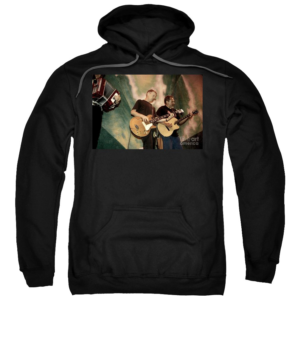 Accordian Sweatshirt featuring the photograph Hot Tuna by Concert Photos