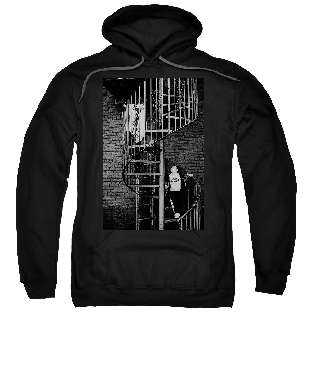 Kids Sweatshirt featuring the photograph I Look Up To You by Kristie Bonnewell