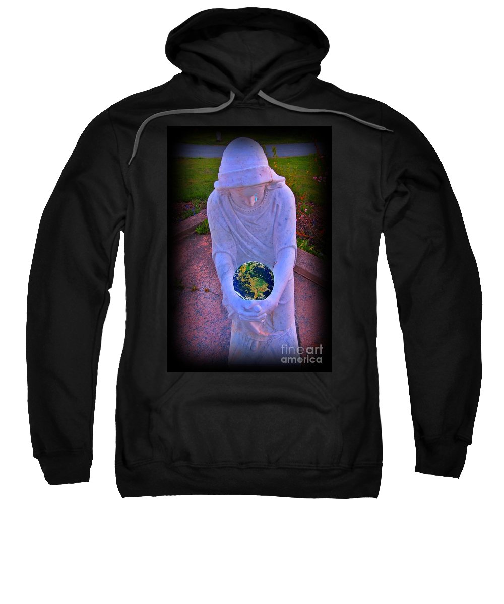 I So Weep For Thee Sweatshirt featuring the photograph I So Weep For Thee by John Malone