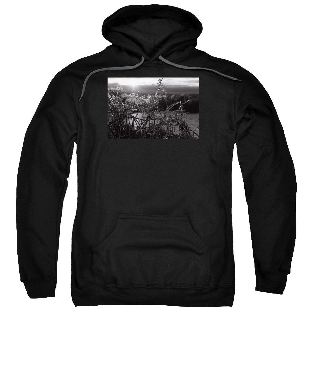 Sunrise Sweatshirt featuring the photograph Icerise by DJ Florek