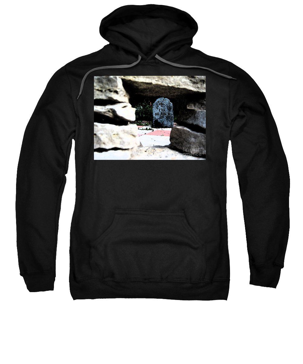 Irst Star Art Sweatshirt featuring the photograph I'll Be Back By Jrr by First Star Art