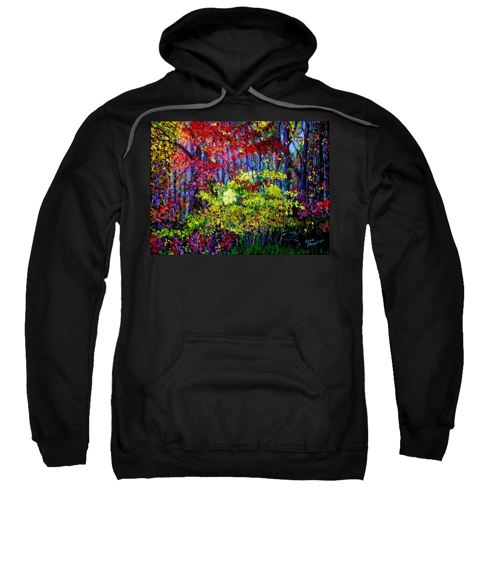 Impressionism Sweatshirt featuring the painting Impressionism 1 by Stan Hamilton