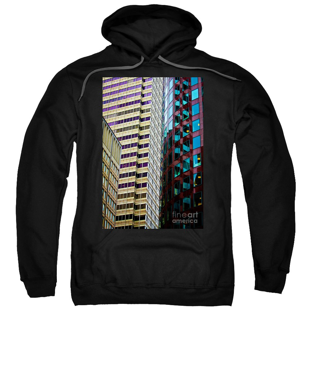 Streets Of San Francisco Sweatshirt featuring the photograph Rightside District by Digital Kulprits