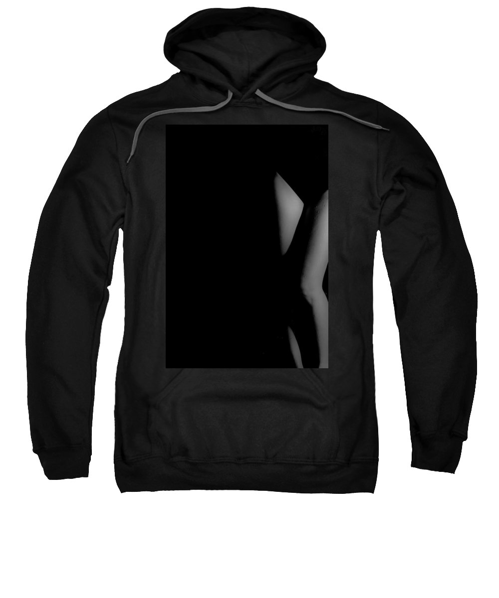Sexy Sweatshirt featuring the photograph In The Shadows by Jacquelyn Crady