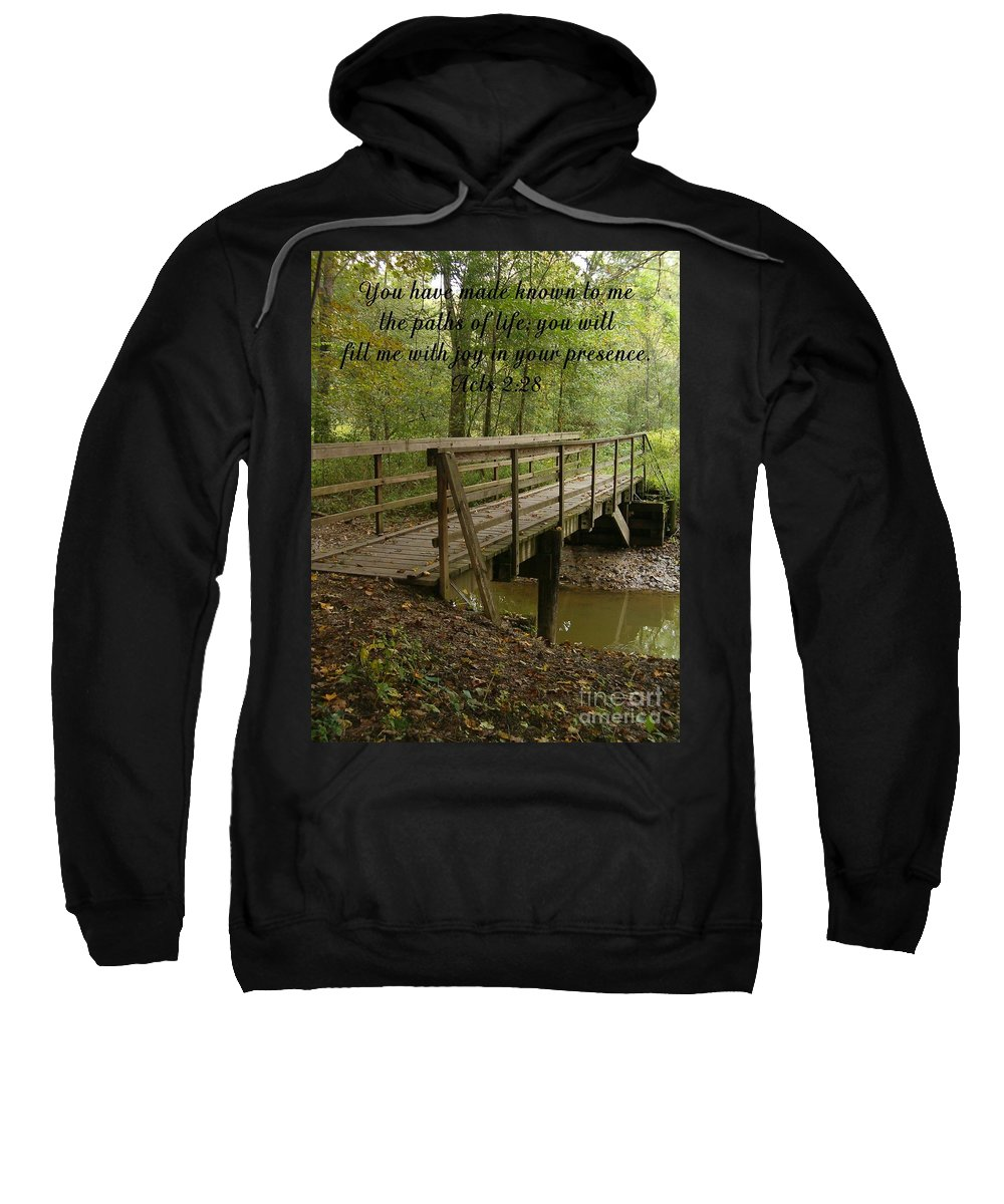 Bible Sweatshirt featuring the photograph Inspirations 4 by Sara Raber
