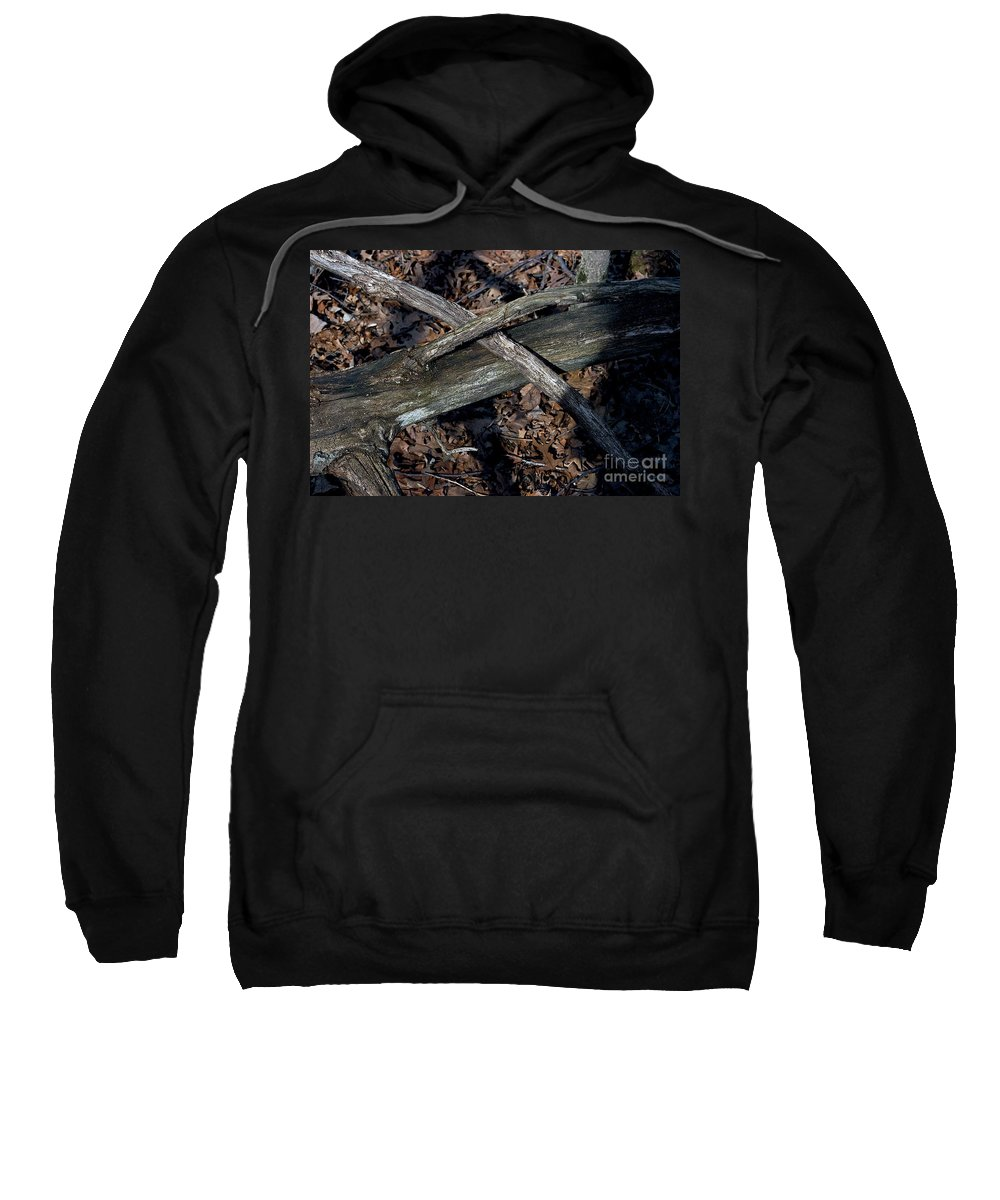 Forest Floor Sweatshirt featuring the photograph Intersection by Joseph Yarbrough