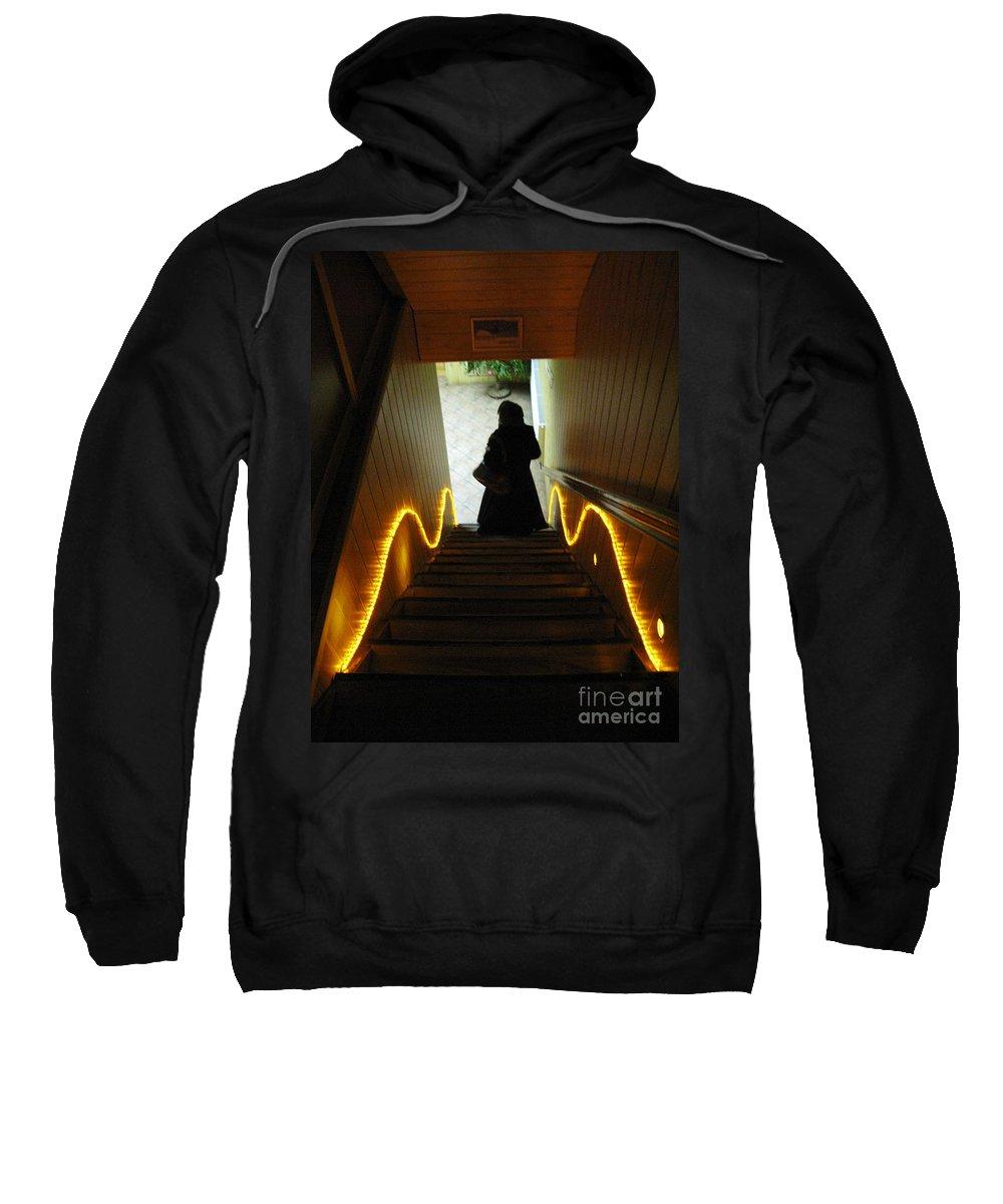 Light Sweatshirt featuring the photograph Into The Light by Ausra Huntington nee Paulauskaite