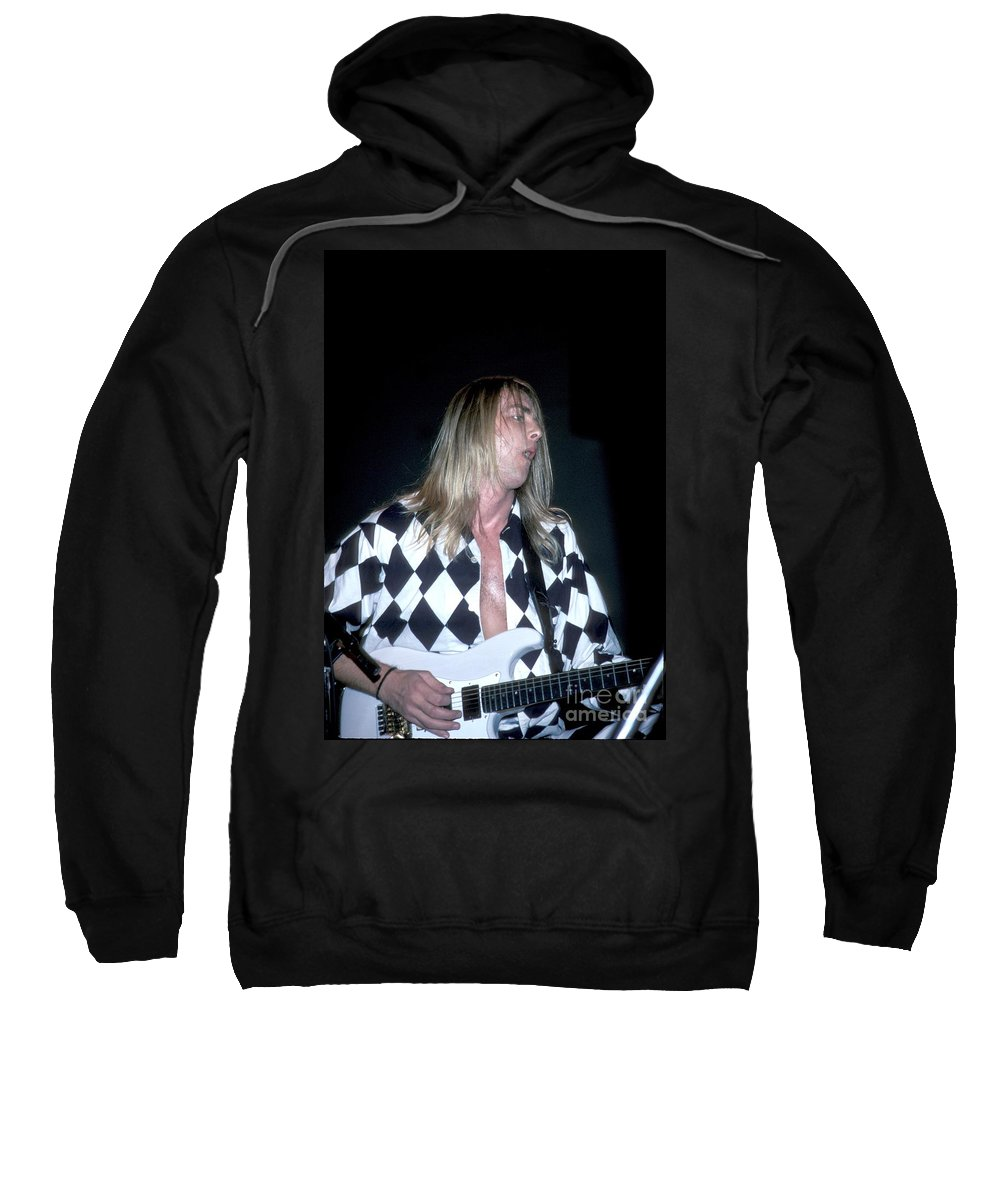 Singer Sweatshirt featuring the photograph It Bites by Concert Photos