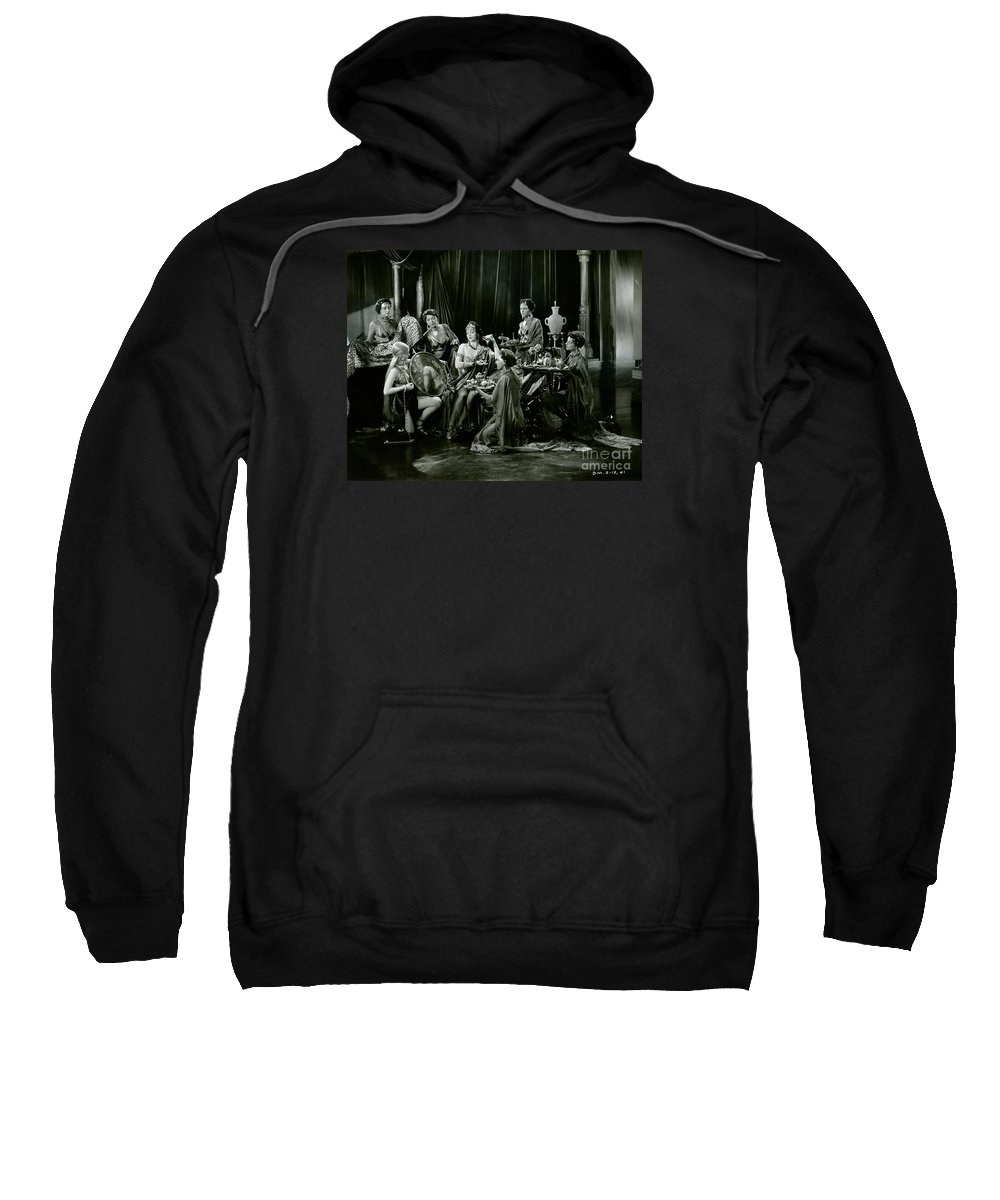 Harem Sweatshirt featuring the photograph Jacqueline Logan In King Of Kings 1927 by Sad Hill - Bizarre Los Angeles Archive