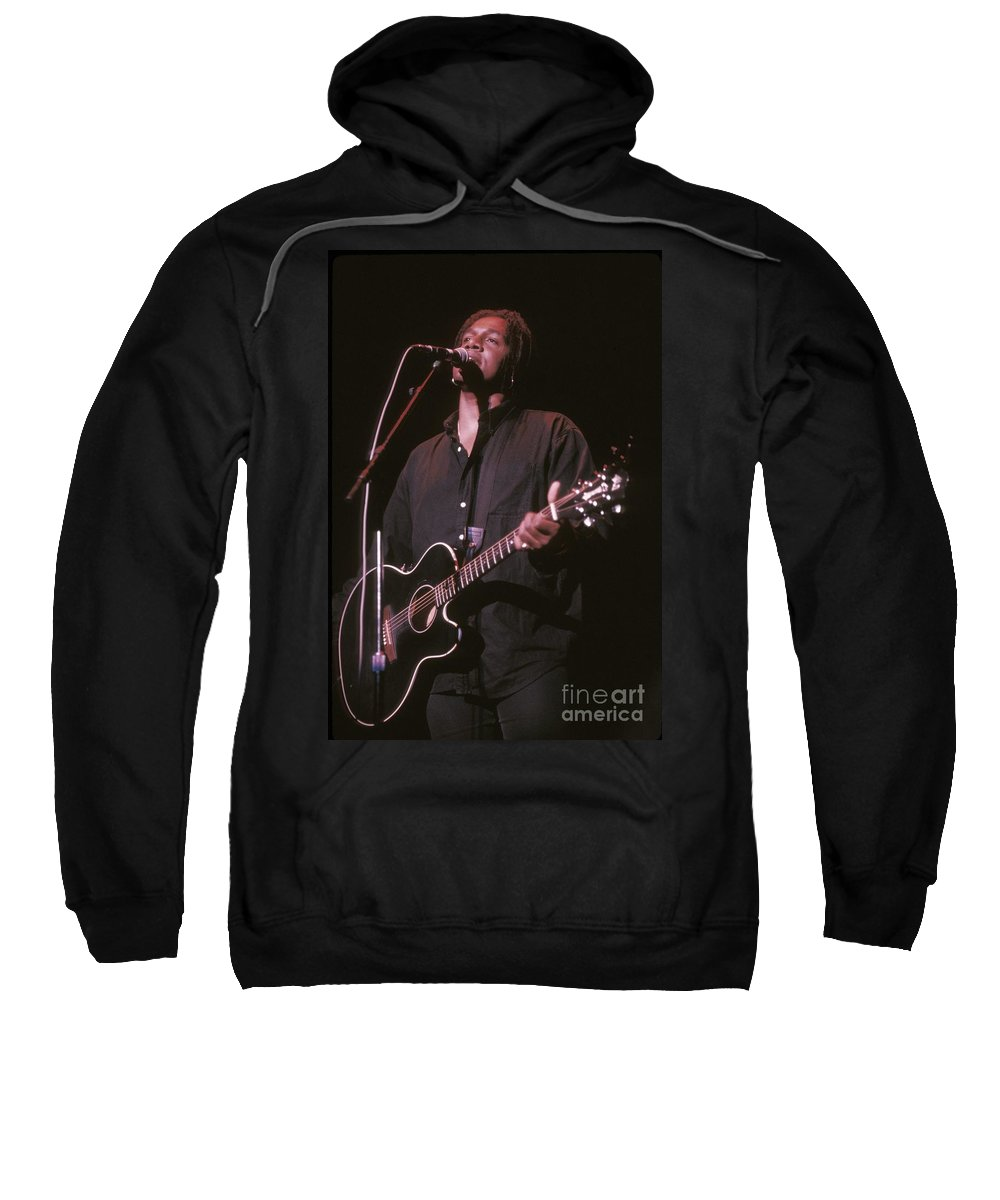 Photos Sweatshirt featuring the photograph Jeffrey Gaines by Concert Photos