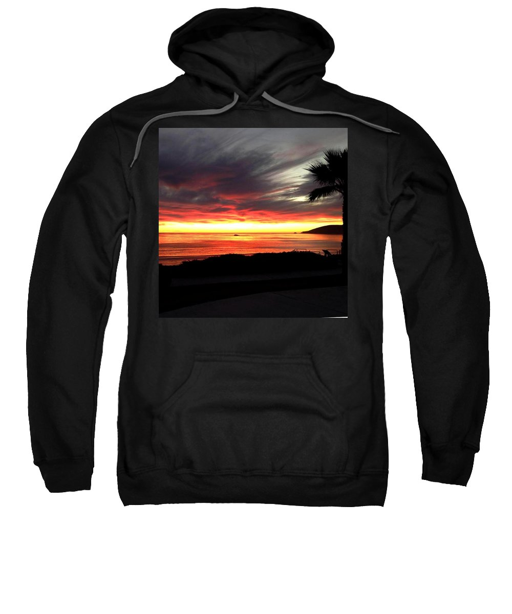 Sunsets Sweatshirt featuring the photograph Jessica Sunset by Jessica Serena