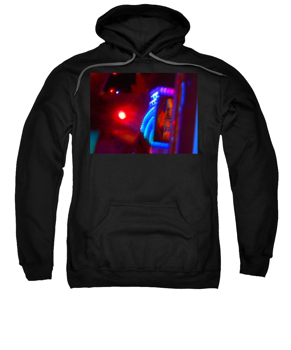 Cosmos Sweatshirt featuring the photograph Journey Of The Deep Space Robot by James Welch