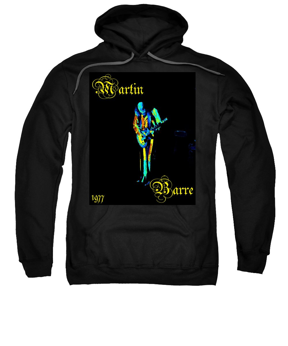 Jethro Tull Sweatshirt featuring the photograph Jt #67 In Cosmicolors With Text by Ben Upham