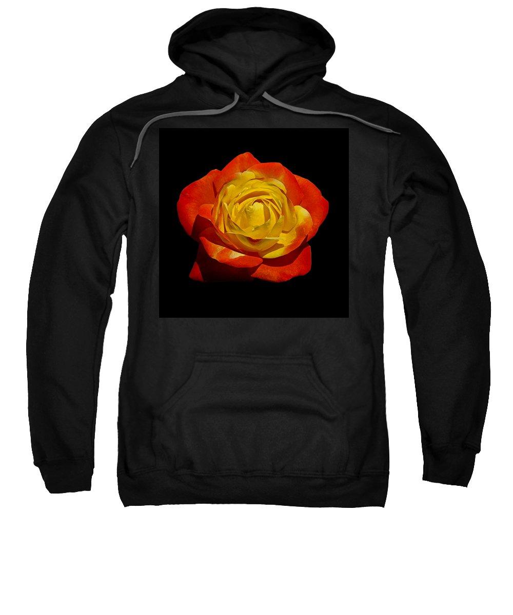 Beautiful Sweatshirt featuring the photograph Judy Garland Rose by Ernie Echols