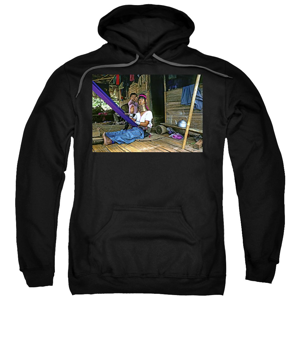 Thailand Sweatshirt featuring the photograph Jungle Crafts by Steve Harrington
