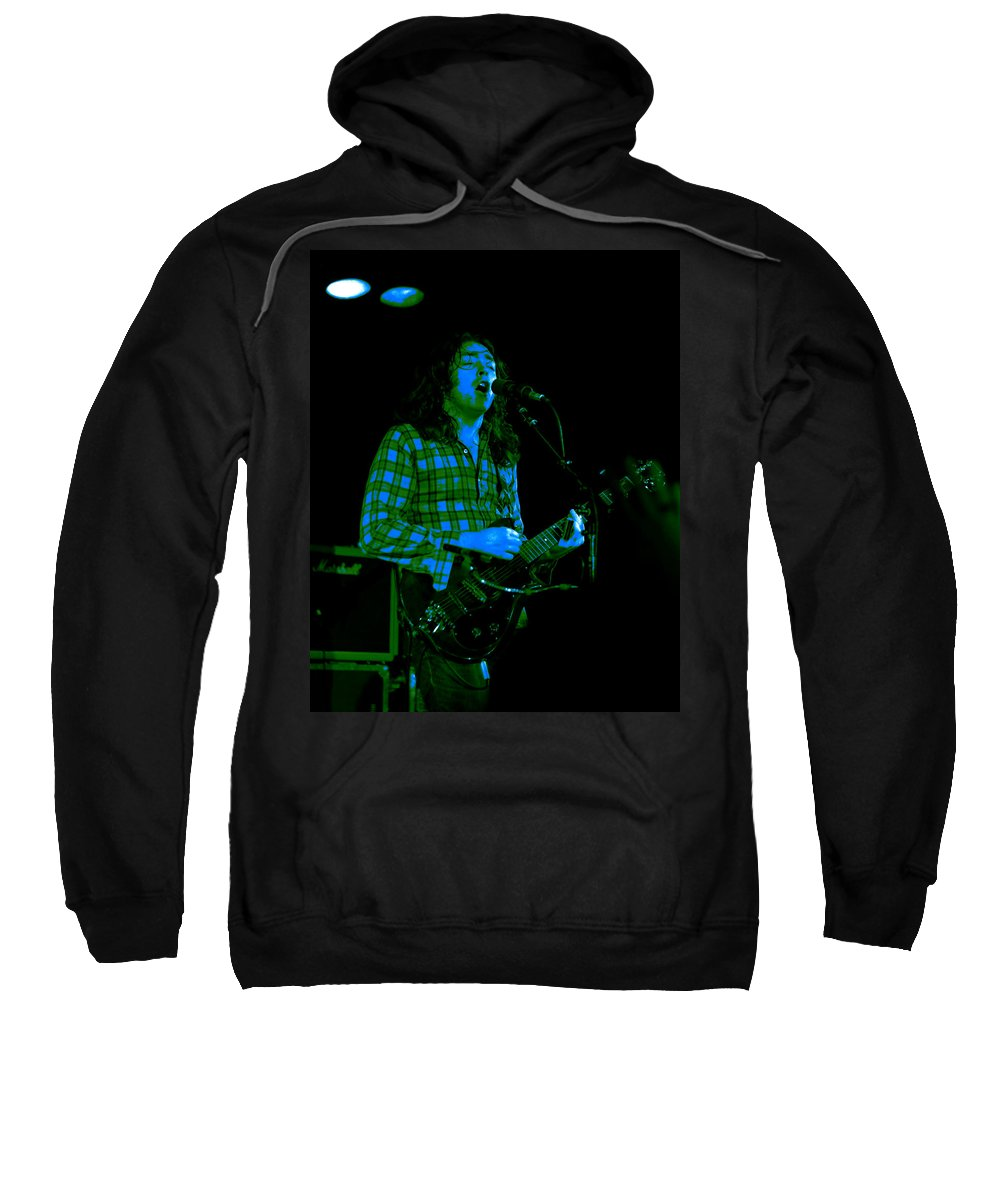 Slide Guitar Sweatshirt featuring the photograph Kent #24 With Enhanced Colorization by Ben Upham