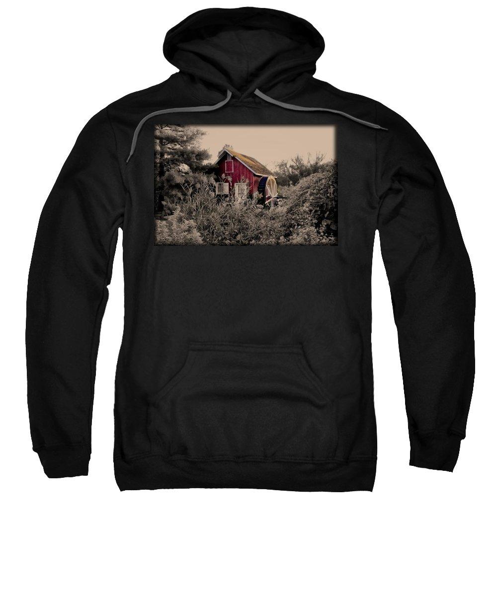Kimberton Sweatshirt featuring the photograph Kimberton Mill Chester County Pa by Bill Cannon